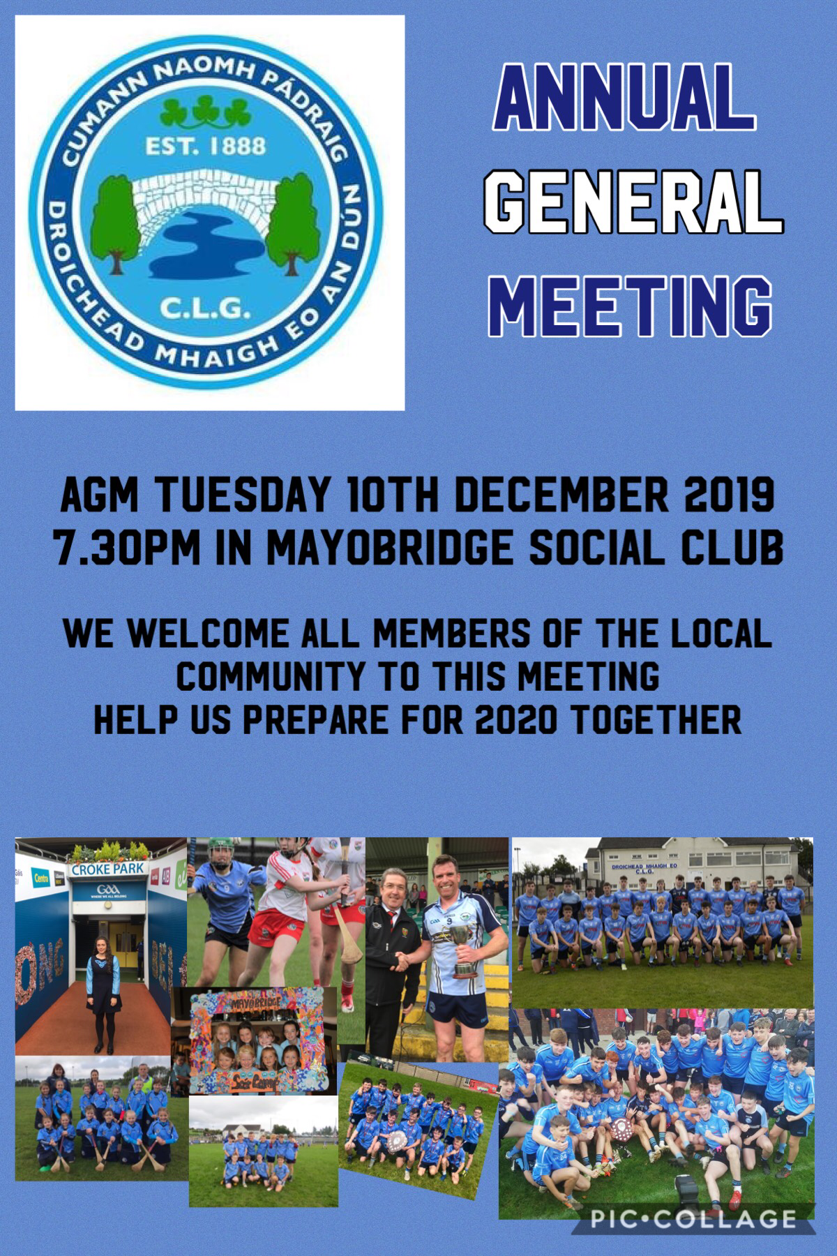 ANNUAL GENERAL MEETING – NOMINATION FORMS AND CLUB AGM MANUAL