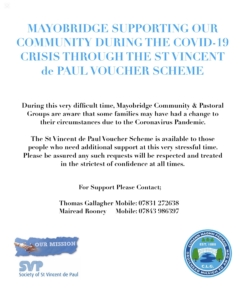 MAYOBRIDGE SUPPORTING COMMUNITY DURING COVID-19
